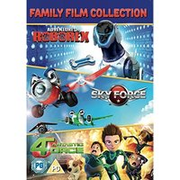 Family Film Collection: Adventure Of Roborex Sky Force Fantastic 4orce DVD