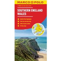 Southern England / Wales Marco Polo Map by Marco Polo (Sheet map, folded, 2014)