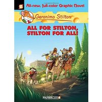 Geronimo Stilton 15 All for Stilton and Stilton for All