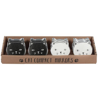 Set of 12 Cat Compact Mirrors