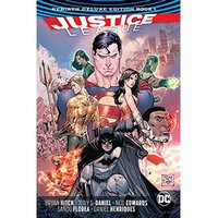 Justice League Rebirth: Deluxe Collection: Book 1 Hardcover