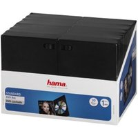 Hama DVD Jewel Cases, pack of 30, black, value pack