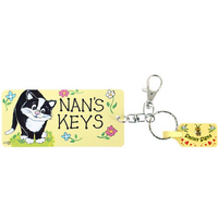 Pack of 6 Nans Keys