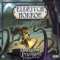Eldritch Horror Under the Pyramids Board Game