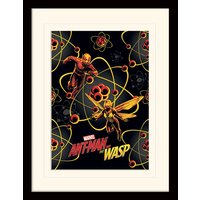 Ant-Man and The Wasp - Atomic Mounted & Framed 30 x 40cm Print