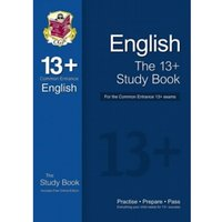 The 13+ English Study Book for the Common Entrance Exams (with Online Edition) by CGP Books (Paperback, 2014)