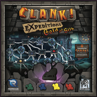 Clank! Expeditions: Gold and Silk Board Game