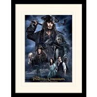 Pirates of the Caribbean - Darkness Mounted & Framed 30 x 40cm Print