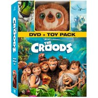 The Croods DVD With Toy