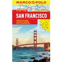 San Francisco Marco Polo City Map by Marco Polo (Sheet map, folded, 2013)