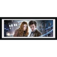 Doctor Who Main Framed Photographic Print