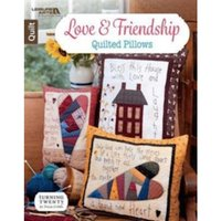 Love & Friendship Quilted Pillows