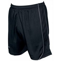 Precision Mestalla Shorts 22-24 inch Black/White