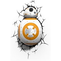 Star Wars 3D Deco Wall Light - BB-8