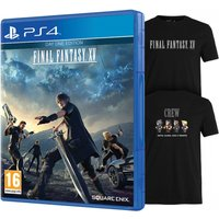 Final Fantasy XV Day One Edition PS4 Game (Bonus DLC + Exclusive T-Shirt)