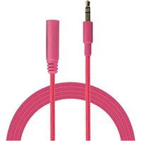 Urbanz INC35P-S1PK Incredi-Cables 3.5mm Corded Audio Extension Cable 1M - Pink