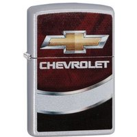 Zippo Chevy Satin Chrome Windproof Lighter