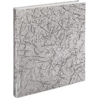 Hama Caracas Bookbound Album, 29x32 cm, 50 white pages, silver