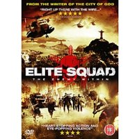 Elite Squad The Enemy Within DVD