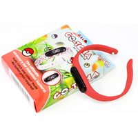 GO-TCHA Wristband Straps for Pokemon Go (Includes GO-TCHA) Red