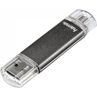 Hama Laeta Twin FlashPen USB 2.0 8 GB 10 MB/s Grey
