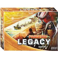 Pandemic Legacy Season 2 - Yellow Board Game