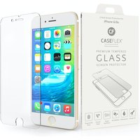 Caseflex iPhone 6 / 6S Glass Screen Protector - 2 Pack (Retail Box)