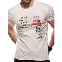 Pink Floyd - Government Men's Small T-Shirt - White