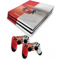 Official Sunderland FC PS4 Pro Console Skin and 2x Controller Skin Combo Pack