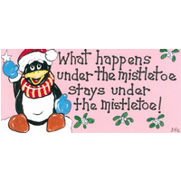 What Happens Under Mistletoe Pack Of 12