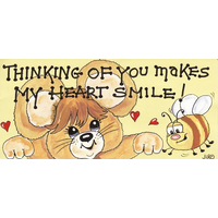 Thinking Of You Make My Heart Smile Pack Of 12