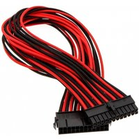 Phanteks 24-Pin ATX Cable Extension 50cm Sleeved Black & Red