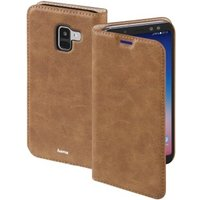 Hama Guard Case Booklet for Samsung Galaxy A8 (2018), brown