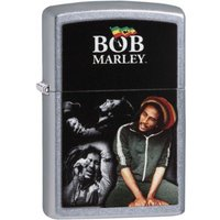 Zippo Bob Marley Memorable Moments Street Chrome Finish Windproof Lighter