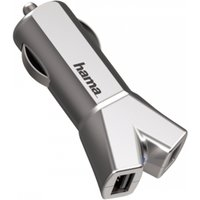 Colour Line (Silver) 12V Charger 2x USB 3.4A