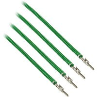 CableMod ModFlex Sleeved Cable Green 40cm - 4 Pack