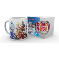 Konosuba Key Art 2 Mug