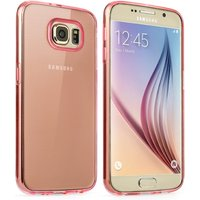 YouSave Accessories Samsung Galaxy S6 Ultra Thin Gel Case - Pink