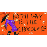 Witch Way To The Chocolate Pack Of 12