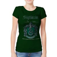 Harry Potter - Slytherin Team Quidditch Women's Small T-shirt - Green
