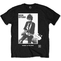 Bob Dylan - Blowing in the Wind Kids 3 - 4 Years T-Shirt - Black