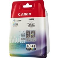 Canon 0615B036 (PG-40 CL 41) Printhead multi pack, 16ml 12ml, Pack qty 2