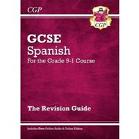 New GCSE Spanish Revision Guide - For the Grade 9-1 Course (with Online Edition) by CGP Books (Paperback, 2016)