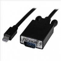 StarTech (3 feet) Mini DisplayPort to VGA Adapter Converter Cable mDP to VGA 1920x1200 Black