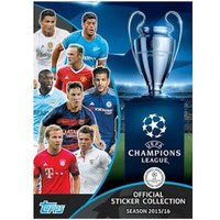 Champions League 15/16 Hardback Sticker Album