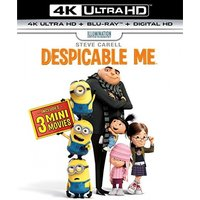 Despicable Me 4K UHD + Blu-ray + Digital HD