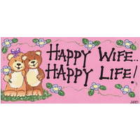 Happy Wife Happy Life Pack Of 12