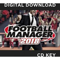 Football Manager 2018 Limited Edition PC CD Key Download for Steam