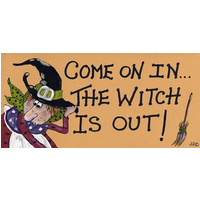 Come On In, The Witch Is Out! Pack Of 12