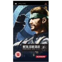 Metal Gear Solid Portable Ops Plus Game